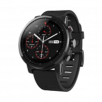 купить Смарт-часы Xiaomi Amazfit Stratos (Smart Sports Watch 2) black (черные) в Кимрах