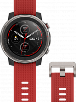 купить Смарт-часы Xiaomi Amazfit Stratos 3 Elite Edition (Smart Sport Watch 3 Elite Edition) Red (Красные) в Кимрах